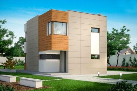 """Проект дома """"Куб 3"""" 143.964 м2"""