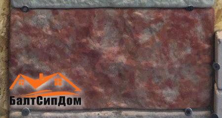 Фасадная бетонная плитка, БалЕвроБлок