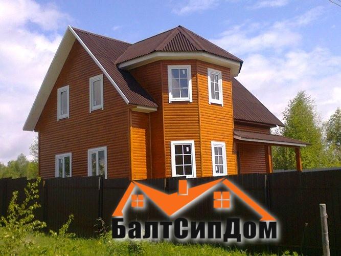 Деревянный дом БалтСипДом