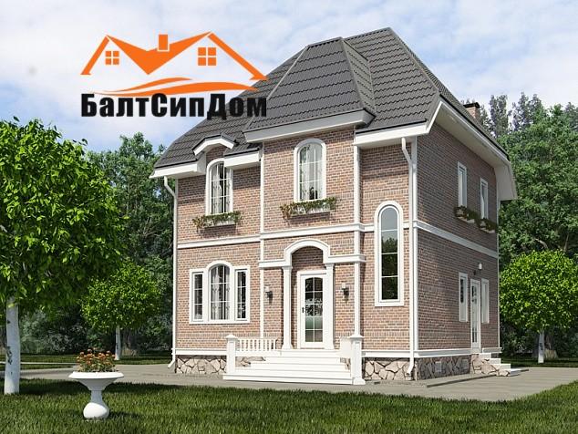 Брусовые дома в Калининграде