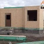 Монтаж дома из СИП панелей Калининград
