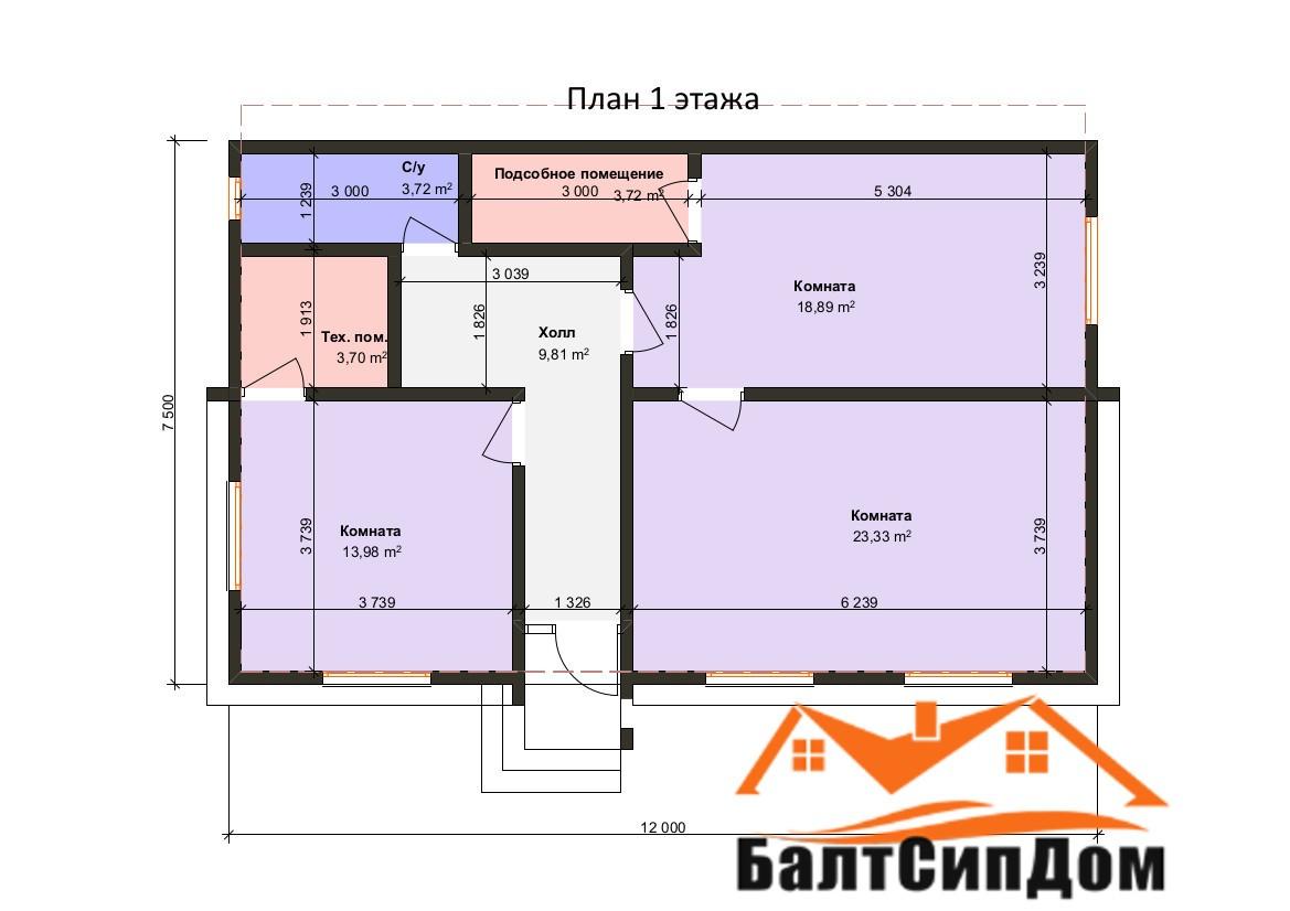 Проектирование и строительство домов из СИП панелей в Калининграде