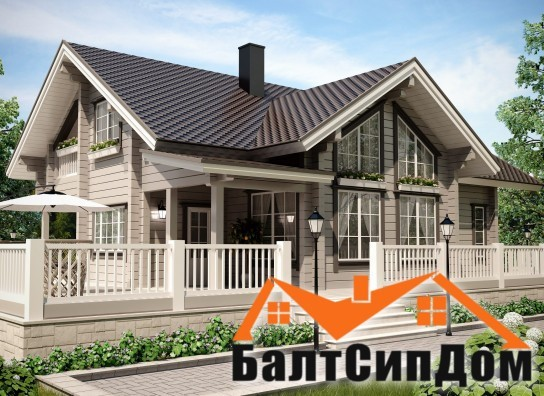 Проект коттеджа в Калининграде, БалтСипДом