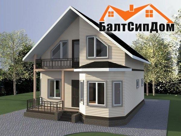 Проекты дома в Калининграде, БалтСипДом
