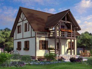 """Проект дома """"Австрия"""" 140м2"""