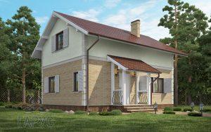 "Проект дома ""Новая Флоренция"" 112 м2"