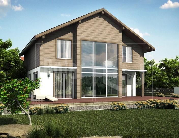 """Проект дома """"Европа"""" 154 м2"""