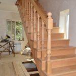 Изготовление лестниц из сосны, БалтСипДом