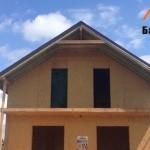 Процесс строительства СИП дома