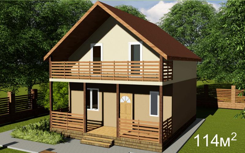 Проект СИП-дома по военной ипотеке