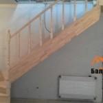 Установка деревянной лестницы