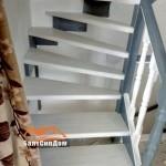 Замер, расчет, изготовление, доставка и установка деревянных лестниц на заказ